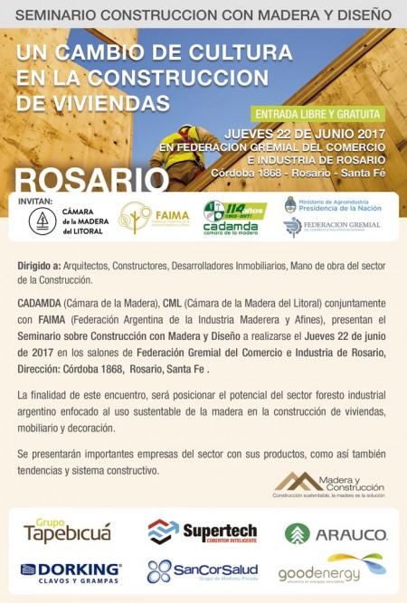 CARTEL Seminario en Rosario jun2017